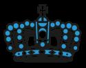 Blaue Krone