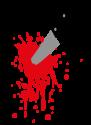 Blutiges Messer