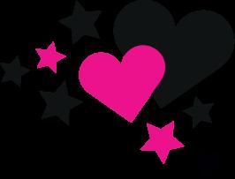 Herz mit Sterne