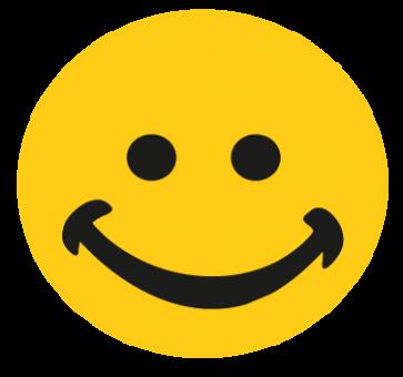 Lächelnder Smily